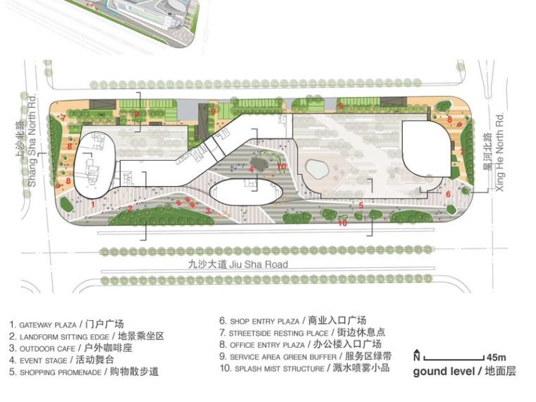 [杭州]新区大型商业综合体景观设计方案
