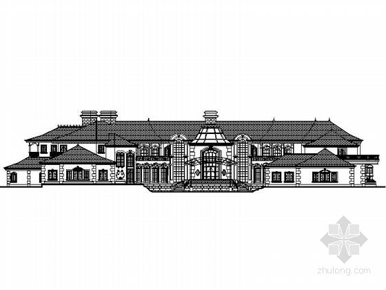 [四川]别墅区规划及单体设计施工图(含效果图)