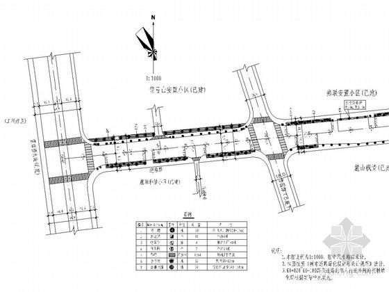 城市次干路工程绿化设计套图