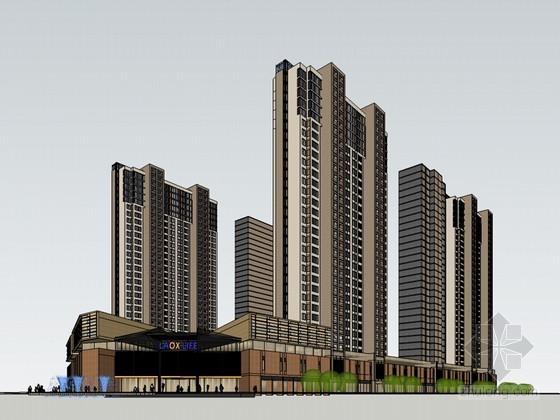 商业高层建筑
