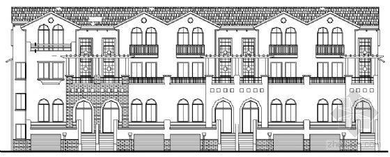 某三层联排别墅设计方案 3号、12、17、28号楼