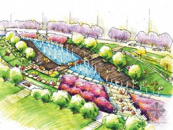 张家港市居住区景观设计方案