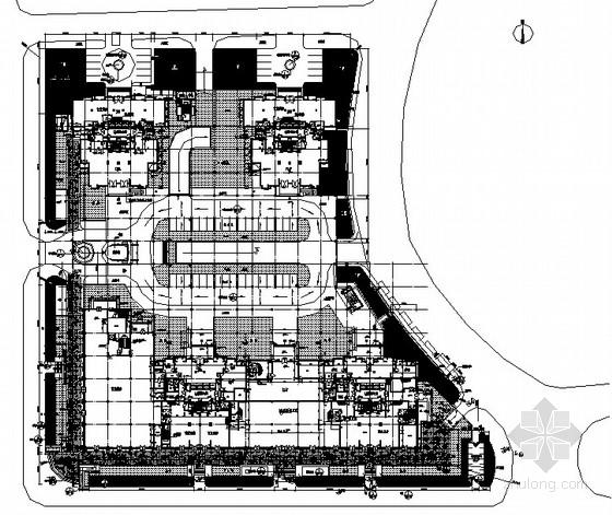[北京]花园居住区景观工程园建施工图