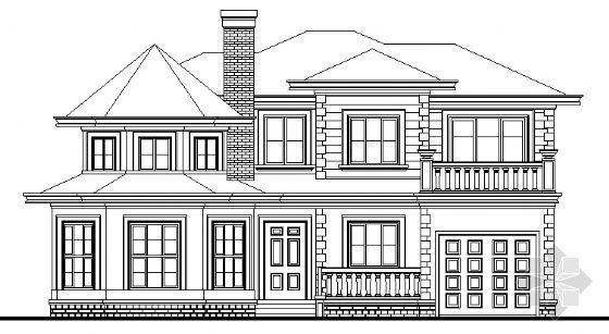 BS-13型独立别墅建筑方案图