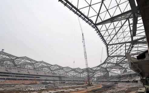 深圳某体育场钢结构安装方案(PPT 空间网格 三维演示)