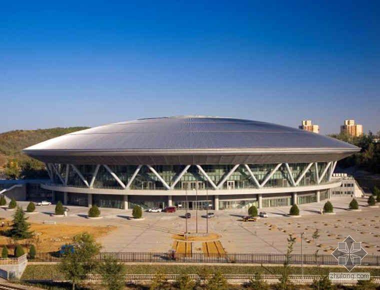 北京某大型自行车馆创鲁班奖汇报材料(PPT 2008年)