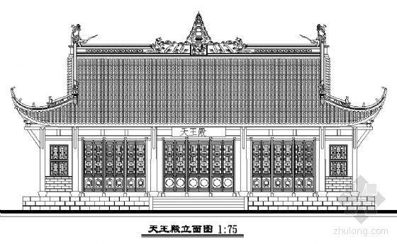 某古建寺院建筑修复性规划及设计