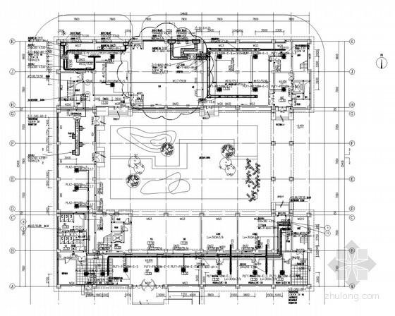 [上海]大型数据中心空调通风及防排烟系统设计施工图(大院设计)