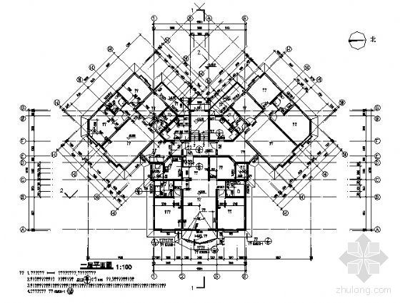 四川省御营山景7#楼建筑结构施工图-2