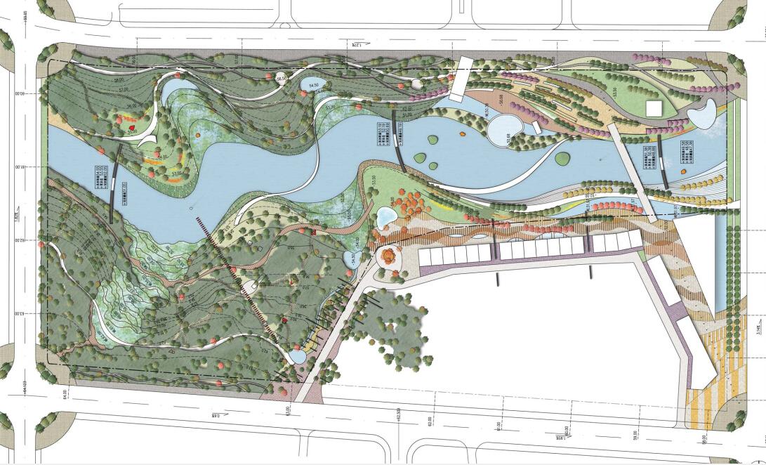 [方案][青岛]高端社区生态公园景观概念设计方案图片