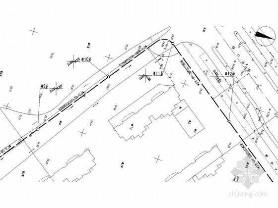 [安徽]老城区道路排水系统改造工程设计平面图