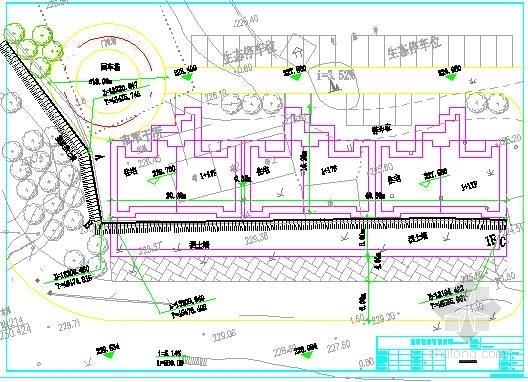 [湖南]休干所住宅楼挡土墙边坡支护结构设计图