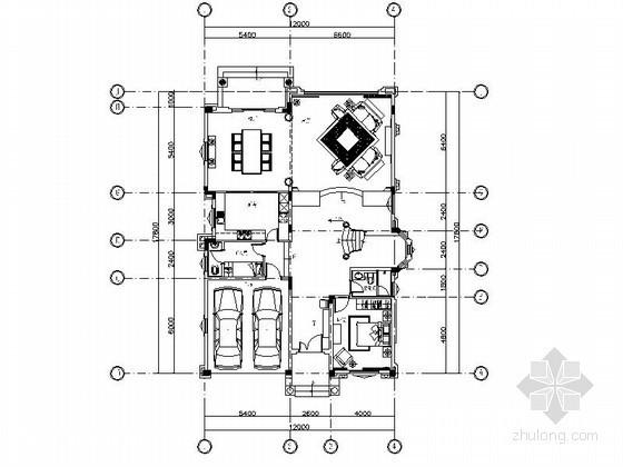 [大连]田园精致三层别墅室内装修图(含实景)