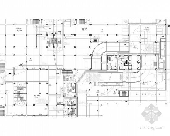 [辽宁]大型高层商业办公综合体强弱电施工图150张