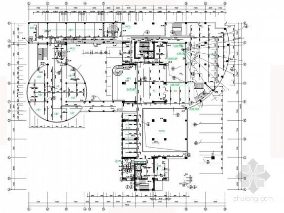 [陕西]十八层商务大厦给排水图纸(含计算说明书)
