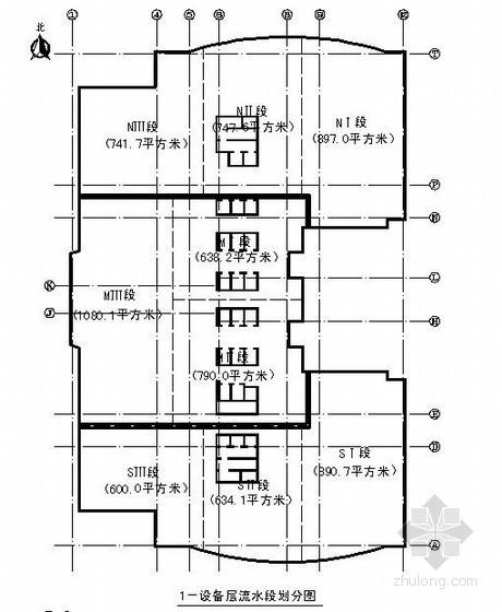 [北京]医院办公楼施工组织设计(平面布置图、长城杯)
