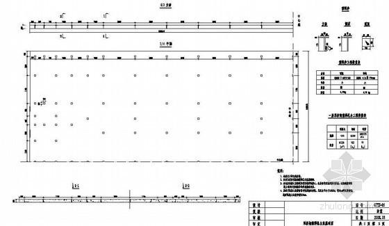 高速铁路某标段制梁场顶板钢筋绑扎台座基础节点详图设计