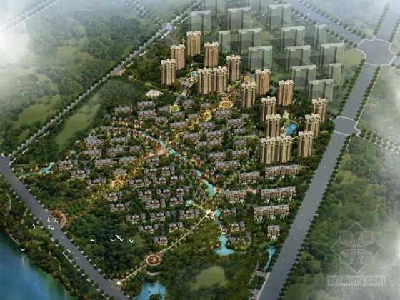 [河北]大型居住区规划及单体设计方案文本(知名设计院)