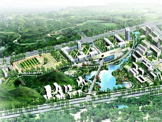 [东华]某理工学院南昌校区规划设计方案文本