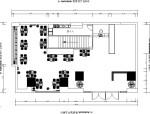 [温州]简约时尚个性茶餐厅室内设计施工图(含效果图)