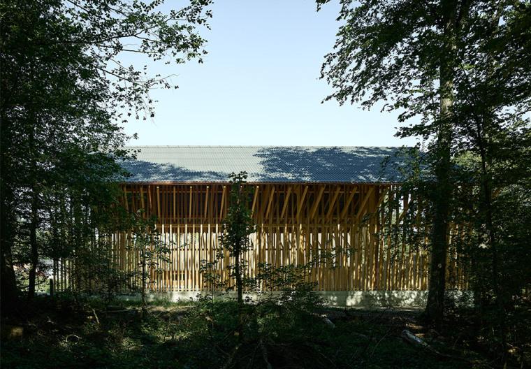 瑞士丛林木结构HolzkorporationDübendorf工厂-2