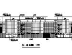 三层框剪结构天津某商场建筑设计