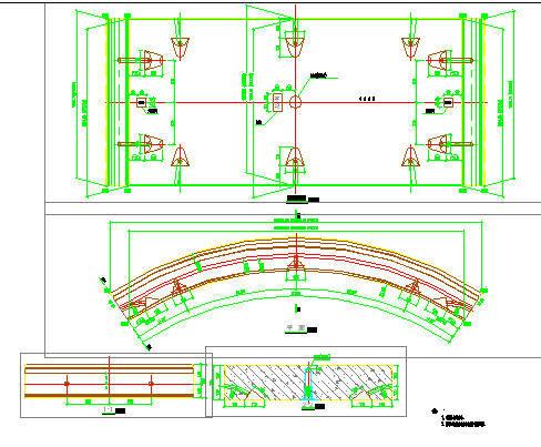 地铁隧道区间及车站施工图纸合集(共1824张)-区间工程示意图(其一)