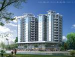 高层中心区商住楼建筑设计