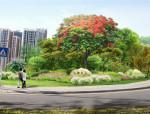 [广东]现代新型人文景观街道绿化设计方案(2016最新独家)