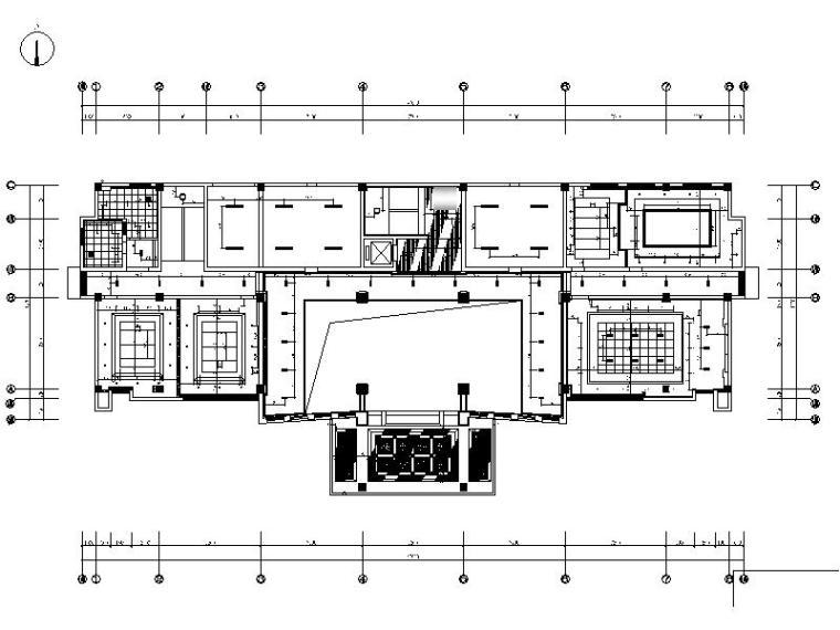 [苏州]豪华精致中式办公楼设计施工图(含效果图)