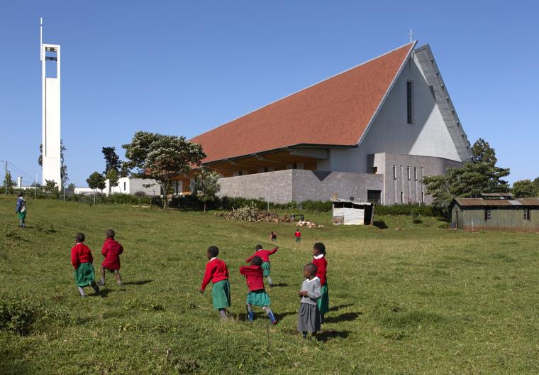 肯尼亚凯里乔圣心大教堂