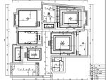 【上海】国际花园美式古典风格住宅设计施工图(附效果图)