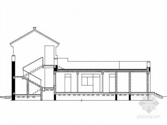 [北京]平谷某二层中式别墅建筑扩初图(220平方米、G2型)