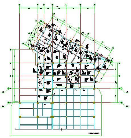 二层板平法施工图