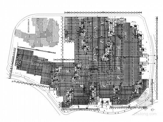 [广东]大型多栋商住楼全套给排水施工图(一类地下车库)