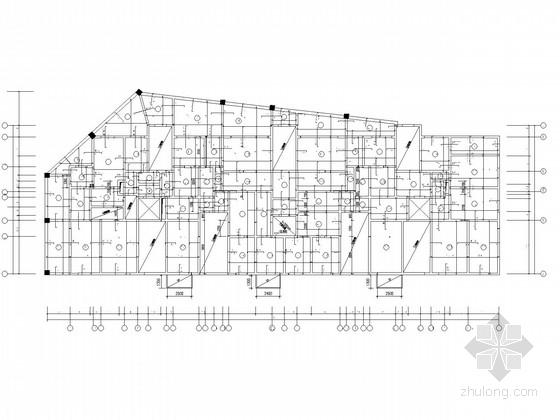 18层带地下室剪力墙住宅结构施工图