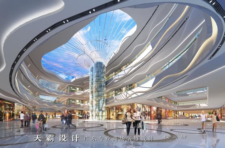 倍具竞争力的铜仁商场装修项目广东天霸设计愿与您联手打造