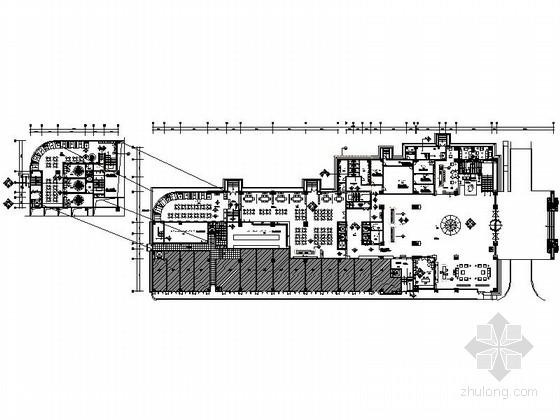[长沙]核心地区国际化精品四星级商务酒店设计施工图(含方案)