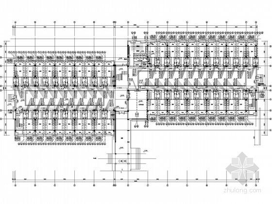 [福建]员工宿舍建筑水暖施工图(直饮水系统)