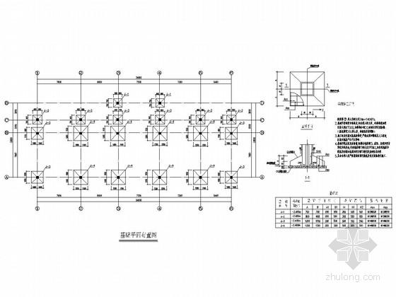 [安徽]地上二层框架结构办公楼结构施工图