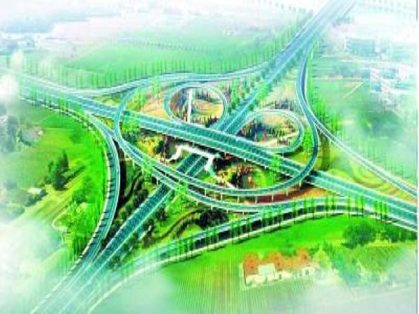 慈溪市某高速公路连接线生态绿地施工方案