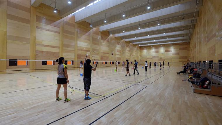 韩国光州羽毛球场-16