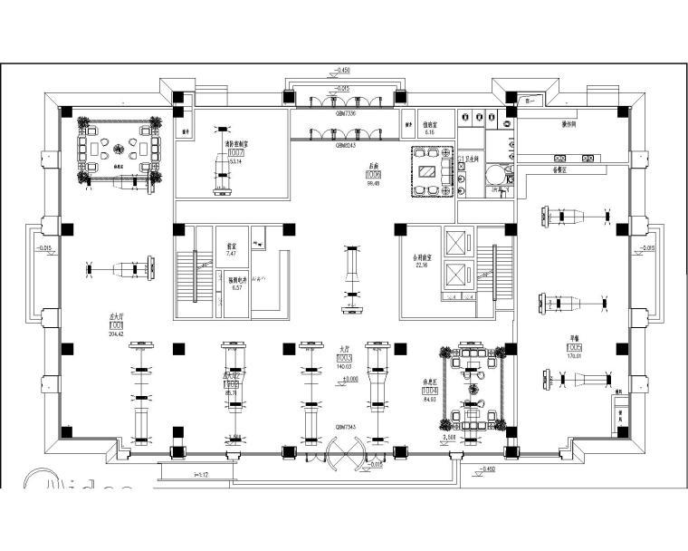综合广场酒店7号楼风冷模块施工图