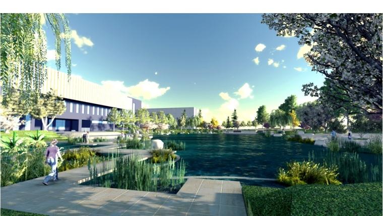 某大学景观设计