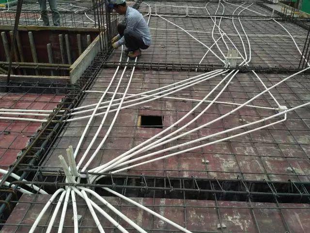 建筑水电安装板面定位图纸怎么看,怎样按图施工