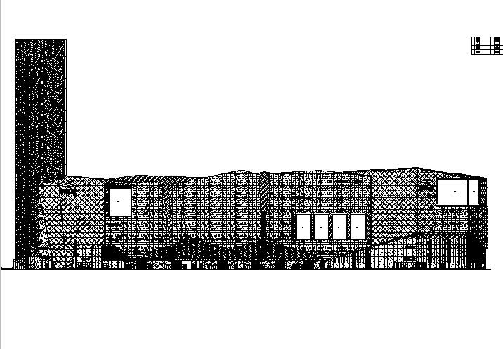 [福建]高层玻璃幕墙办公商业综合体建筑施工图(含全专业)