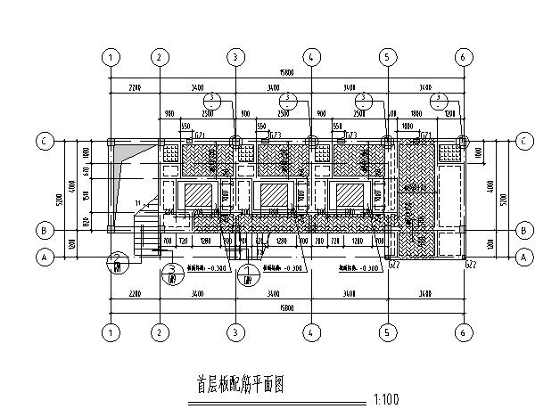 [广东]2层框架结构变配电房建筑结构施工图