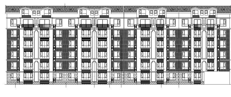 [宁夏]多层剪力墙住宅建筑施工图(全专业及商业、幼儿园、会所)