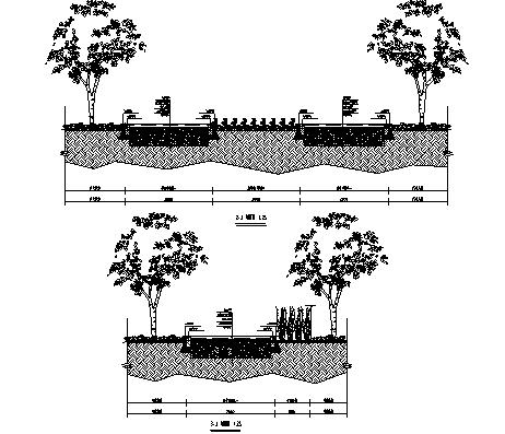 6景观剖面图