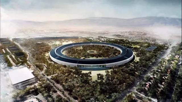 地球上最绿色的建筑,苹果新总部。